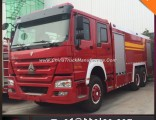 Hot Sales HOWO 6X4 12t 16t Waer Foam Fire Fighting Vehicle Fire Engine