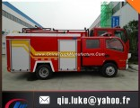 4X2 Euro III Dongfeng 4 Ton Water Fire Engine