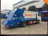 New Small Garbage Compactor Truck Small 4cbm-6m3 Garbage Truck