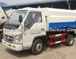 China Small Forland 3cbm Garbage Trash Collector Truck
