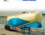3 Axle 45cbm Bulk Cement Powder Tank Semi Trailer Truck