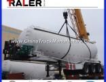 3 Axles 45m3 Bulk Cement Transportation Truck with Compressor