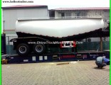 2 Axles Dry Bulk Cement Truck / Cement Bulker Trailer