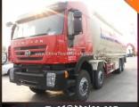 8X4 Genlyon 45mt Bulk Cement Tank Truck Bulk Cement Carrier Tank