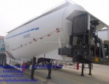 Tri-Axle 30-60m3 Bulk Cement Truck Powder Tank Semi Trailer for Sale