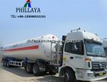 Liquid Natural Gas Transport Truck Semi Trailer LNG Storage Tank