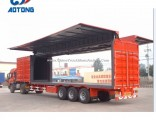 3 Axles Van Trailer Truck