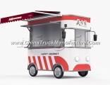 Fast Food Dining Van Truck Outdoor Street