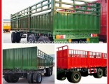 Drawbar Full Trailer Mini Duming Truck