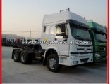 6X4 Prime Mover 420horse Power Trailer Connection Truck HOWO