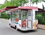Electric Vehicle Food Kiosks Catering Van