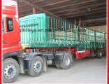 Heavy Duty 3 Axles Livestock Fence Cattler Stake Semi Trailer Truck