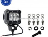 Auto Lighting System IP67 Double Row 18W LED Light Bar for Truck, Offroad, Trailer, Auto Parts