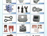Truck Trailer Parts/ Trailer Spare Parts Braking Valve, Braking Pipe, Container Lock, Spare Parts fo