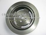 Crankshaft torsional vibration damper of Dongfeng 4H engine