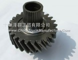 The bridge driving cylindrical gear