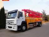 High Configurations Sinotruk 33m Hose 4X2 Concrete Pump Truck