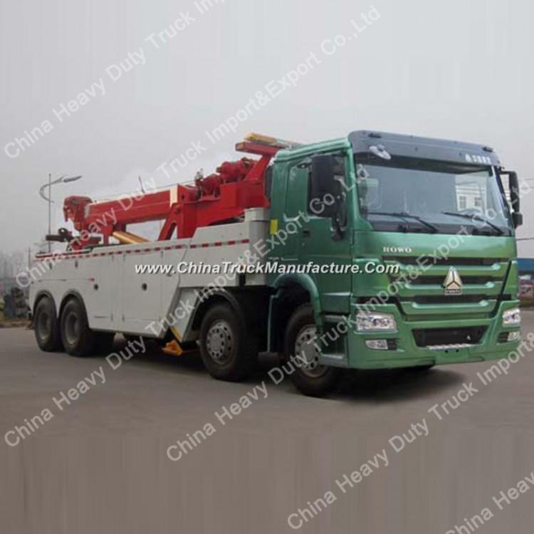 Sinotruk 8X4 60 Tons 371HP Wrecker Towing Truck