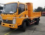 Sinotruk Factory 6 Wheel Dump/Tipper Light Truck