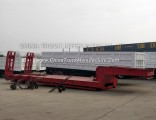 2 or 3 Axle 20FT 40FT Skeleton Semi Trailer for Equipment Container Transportation