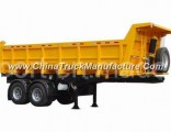 2 Axles Wanhua Dump Truck Trailer for Sale