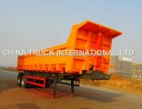 Fuwa 2 Axles 40 Tons Semi Hydraulic Dump Trailer/Tipper Trailer/Truck Trailer