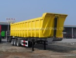 Leaf Spring Suspension 60tons HOWO Transportation Tipper Semi Trailer Price