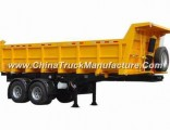 HOWO 2 Axles 3 Axles Dump Semi Trailer Tipper Trailer for Sale