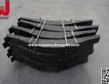 China Trailer Spare Parts 16mm Thickness 90mm Width Trailer Leaf Springs (8-12 Pecs)