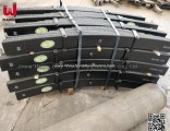 Trailer Spare Parts 16mm Thickness 90mm Width Trailer Leaf Springs (8-12 Pecs)