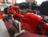 Wanhua Brand Axle Semi Trailer 13t Round Beam American Axle