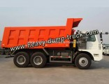 HOWO 70t 6X4 Mining Dump Truck for Asia and Africa