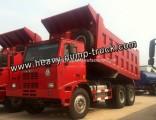 Customized Heavy Duty Truck HOWO 70 Tons Mining Dump Truck
