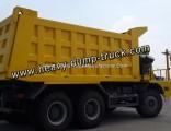 Sinotruk Strong Cargo Box 70 Tons Mining Dump Semi Trailer