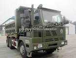 Factory Price Diesel Fuel 30 Tons Heavy Duty HOWO Tipper Truck Mining Dump Truck for Sale