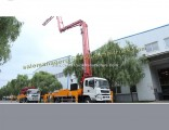 4X2 28m 33m LHD HOWO Concrete Pump Truck with Boom