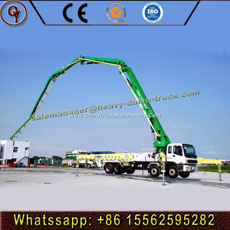45m-56m Mobile Concrete Pump Truck with Boom