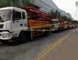 Sinoturk HOWO 4X2 33meters Concrete Pump Truck with 68m3/H Capacity