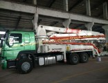 New High Quality 29m 37m 48m 52m Concrete Pump Truck with Ce
