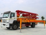 25m to 58m Hydraulic Sinotruk Truck Mounted Concrete Pump Truck