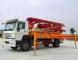 25m to 58m Hydraulic Sinotruk Truck Mounted Concrete Pump Truck