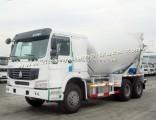 Sinotruk 14 Cubic HOWO 6X4 Truck Mounted Concrete Mixer