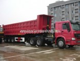Sinotruk HOWO 12 Wheeler 55 Tons Dump Truck