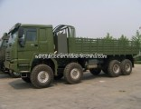 HOWO Second Hand Man Kat 1 8X8 Military Army Trucks