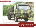 6*6 Sinotruk Troop Transportation Truck