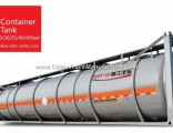 Container Wl9251gxg Tank Truck with Lid