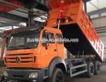 Beiben North Benz 6X4 10 Wheeler Dump Truck 371HP Tipper Truck