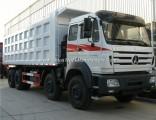 Heavy Duty Truck Beiben 12 Wheels 8X4 40-50 Ton Dump Truck