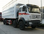 China Heavy Duty Trucks Beiben/North Benz 8X4 Dump Tipper Truck for Sale