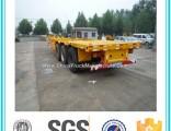 Cimc 3 Axle Skeleton Container Semi Trailer for Sale